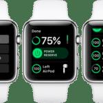 Проверка состояния аккумулятора через Apple Watch