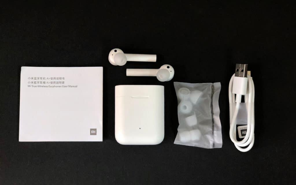 Xiaomi Airdots Pro комплектация