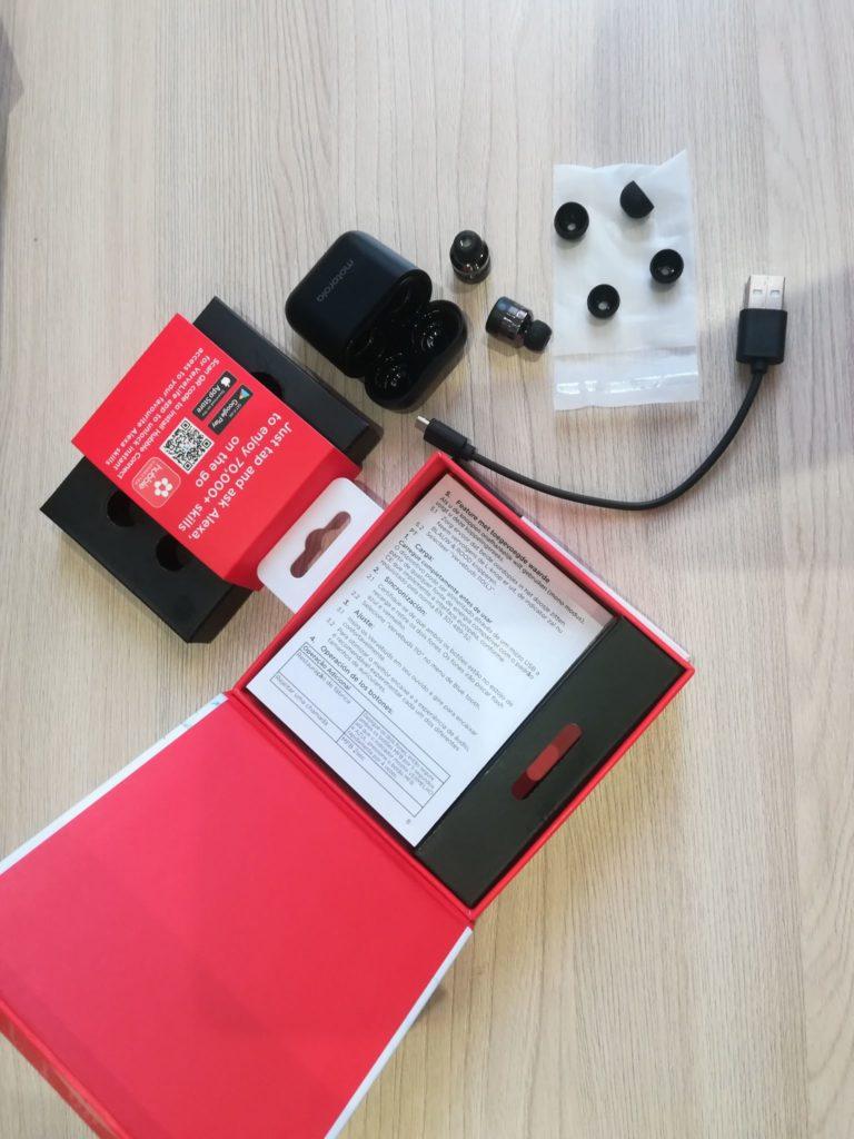 Motorola Vervebuds 110 комплектация